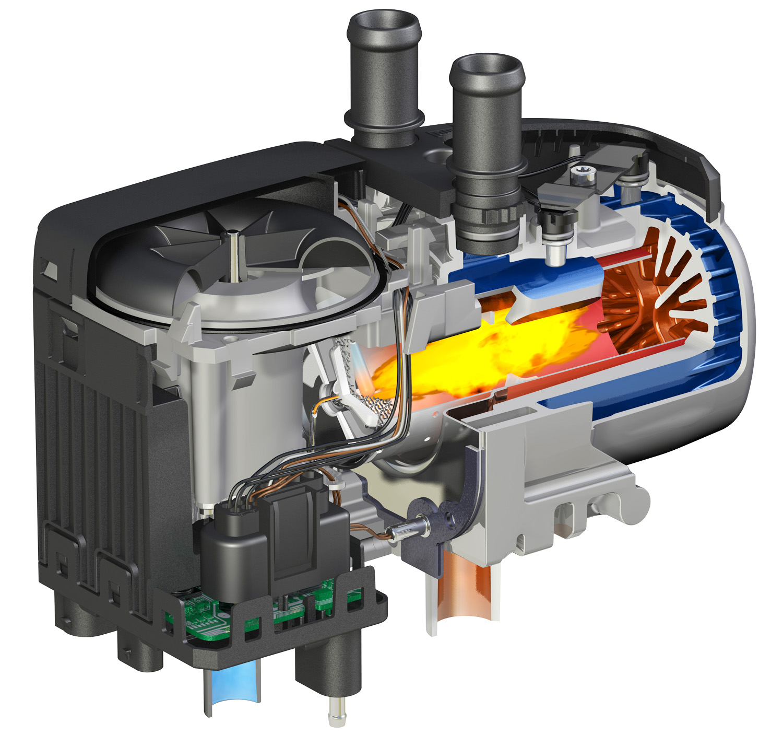 Eberspaecher Hydronic S3 Economy engine pre-heater