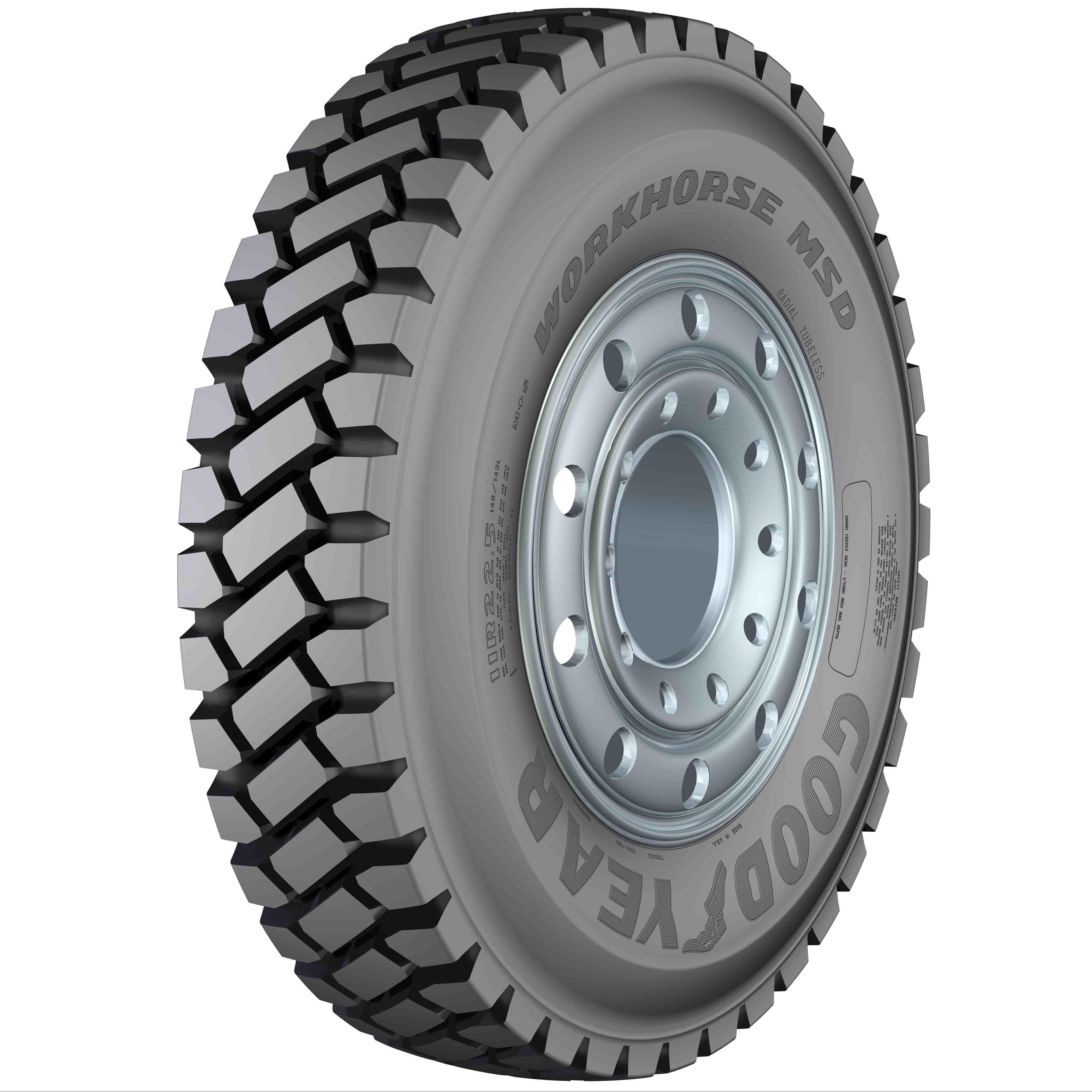 Goodyear Workhorse MSD Tire
