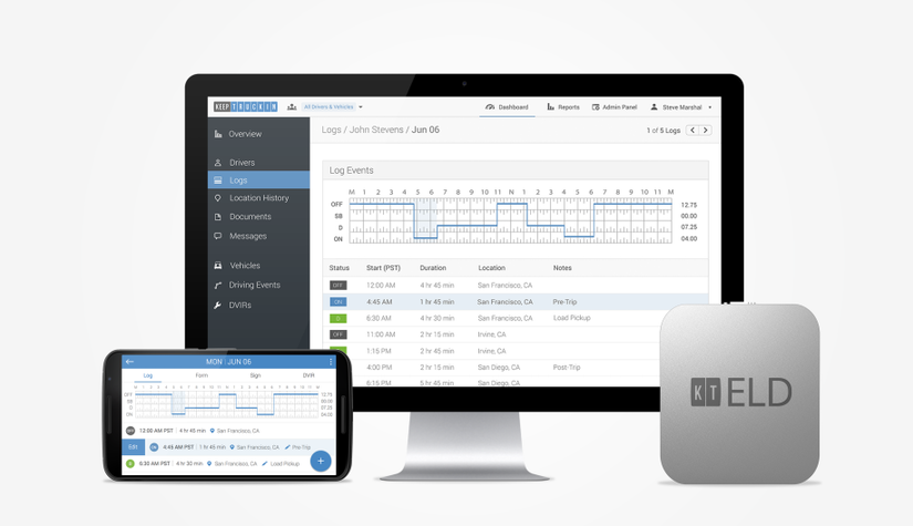 KeepTruckin gets $18M in funding; plans to extend ELD telematics platform
