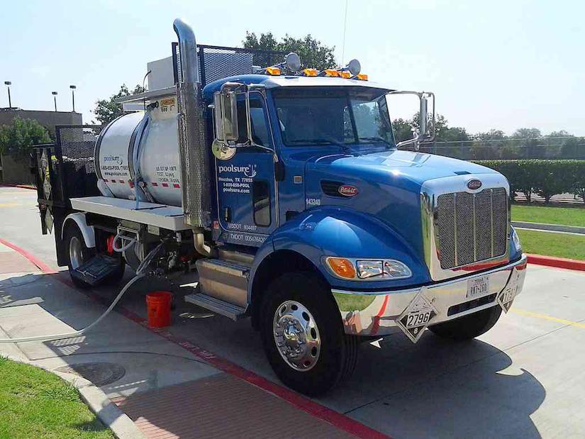 Poolsure Truck