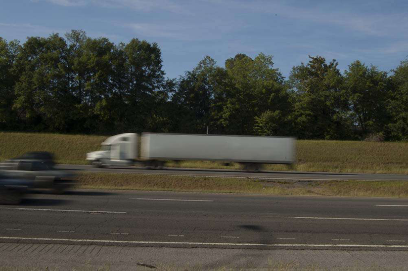 18-Wheeler on Highway