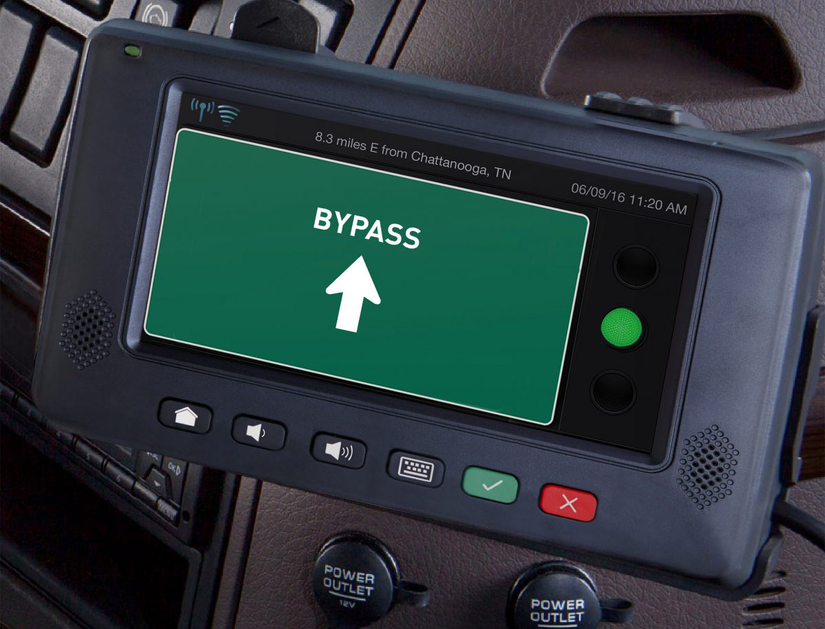 GPS showing Bypass on screen