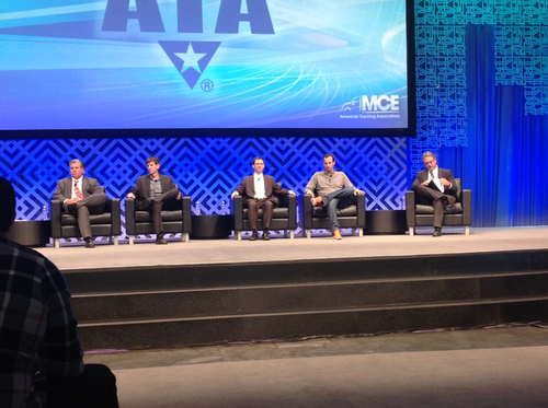 ATA panel: the future of trucking is 'liquidity and automation'