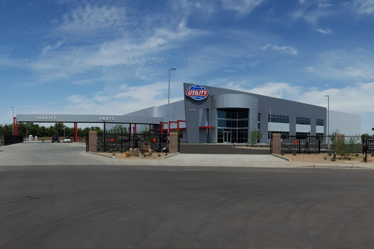 Utility Trailer has opened a new facility in Tolleson, Ariz., after it outgrew its previous location there.