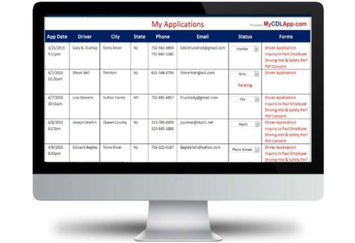 New online service streamlines driver application process for fleets