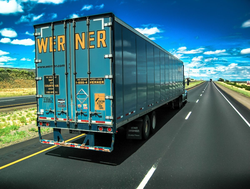 Werner Enterprises truck