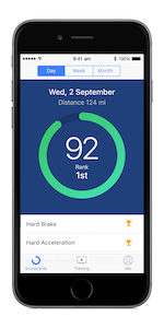 The Telogis Coach app is an automated tool for driver performance reporting.