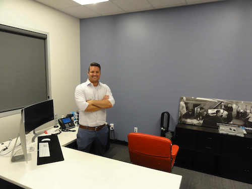 Trevor Milton spoke with CCJ in his office following the unveiling of Nikola One.