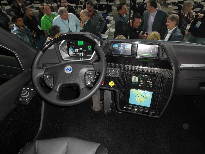 Nikola One shows the future of the connected truck