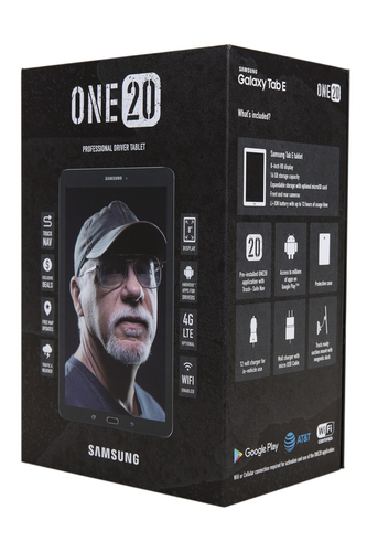 One20 professional driver tablet