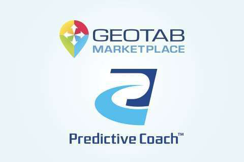 The Predictive Coach app is available on Geotab