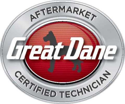 Great Dane Aftermarket Certified Technician log