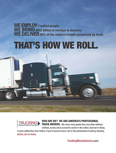 Trucking Moves America Forward met several goals in 2016 and plans to meet more next year.