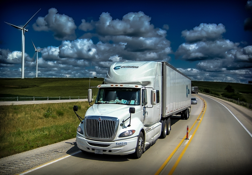 Celadon Group Semi-Truck