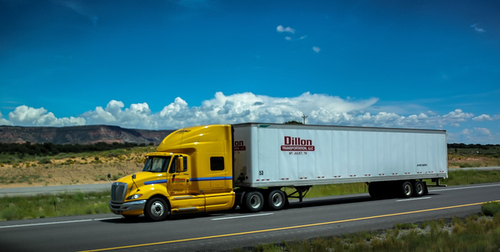 Dillon Transportation is seeking an exemption to allow its team drivers to split sleeper berth time.