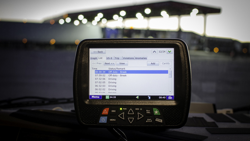 ELD on Dashboard