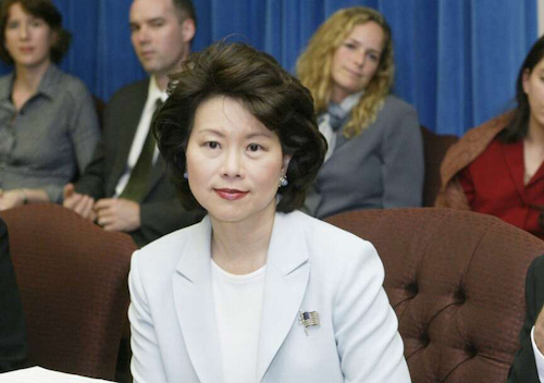 Elaine Chao, nominee to head the U.S. DOT by President-elect Donald Trump, will appear before the Senate's Commerce, Science, and Transportation Committee next week.