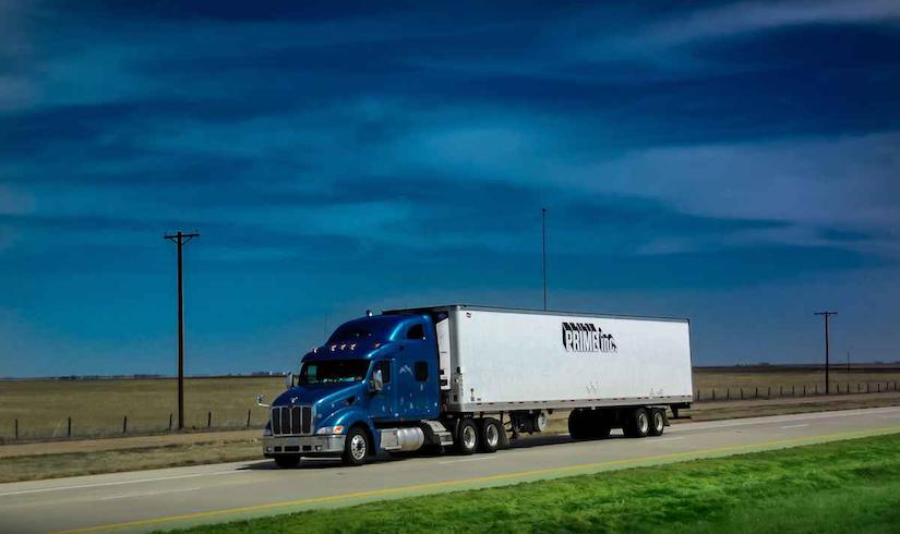 Prime Inc truck