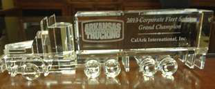 CalArk has been recognized for its safety efforts by the Arkansas Trucking Association.