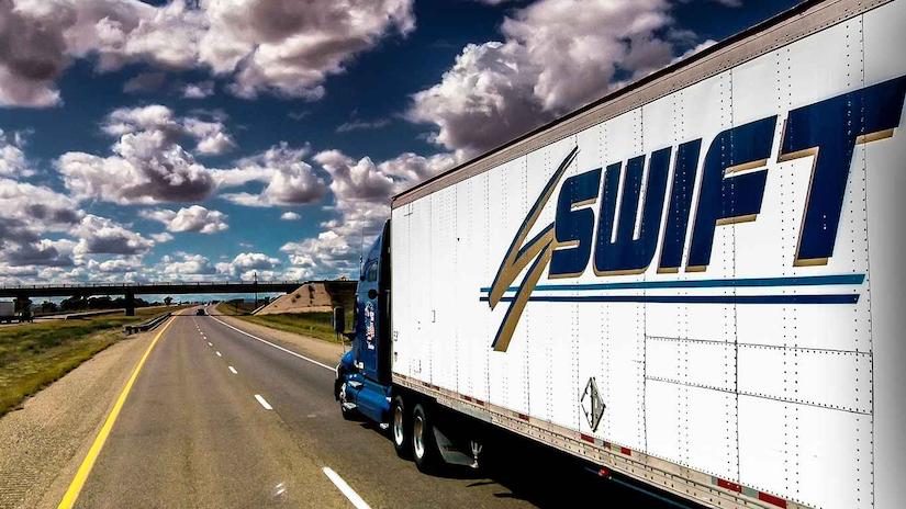 Swift Transportation Semi-Truck