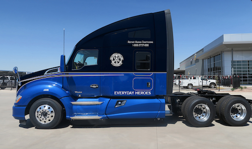 Kenworth to auction custom T680 to benefit Truckers Against Trafficking