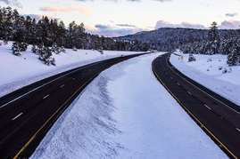 Arizona installs pavement sensors on I-40 for identifying icy road conditions