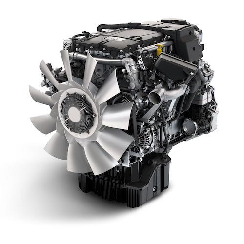DD8 medium-duty engine