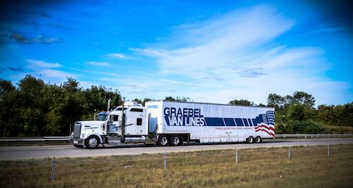 Graebel Van Lines truck