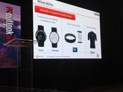Driver wearable devices