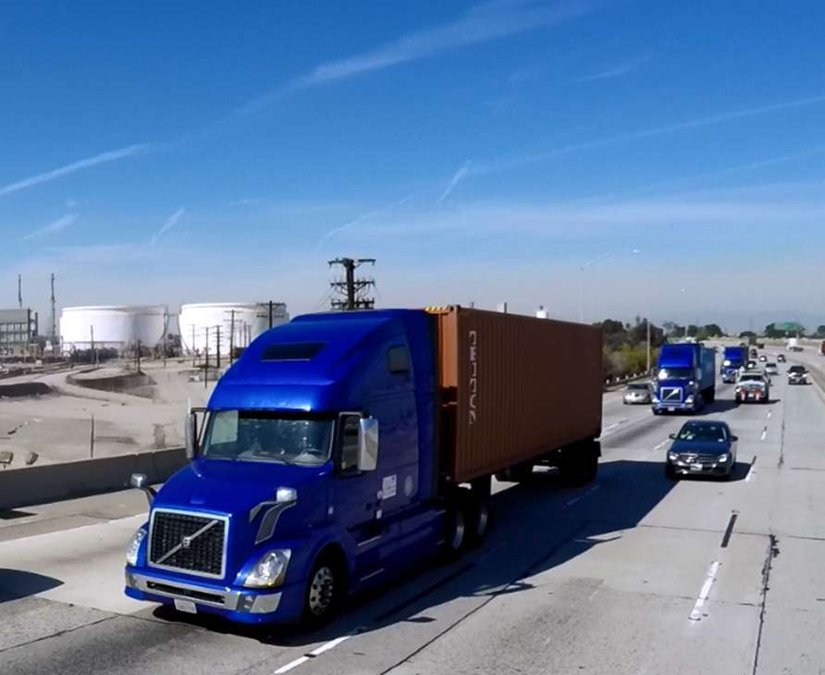 18 Wheeler on Highway