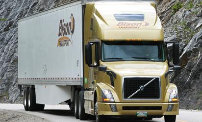Bison semi truck
