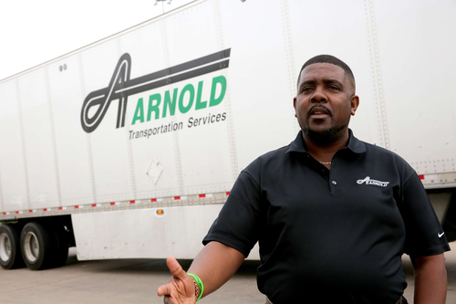 Eric Nelson, Arnold Transportation's vice president of safety