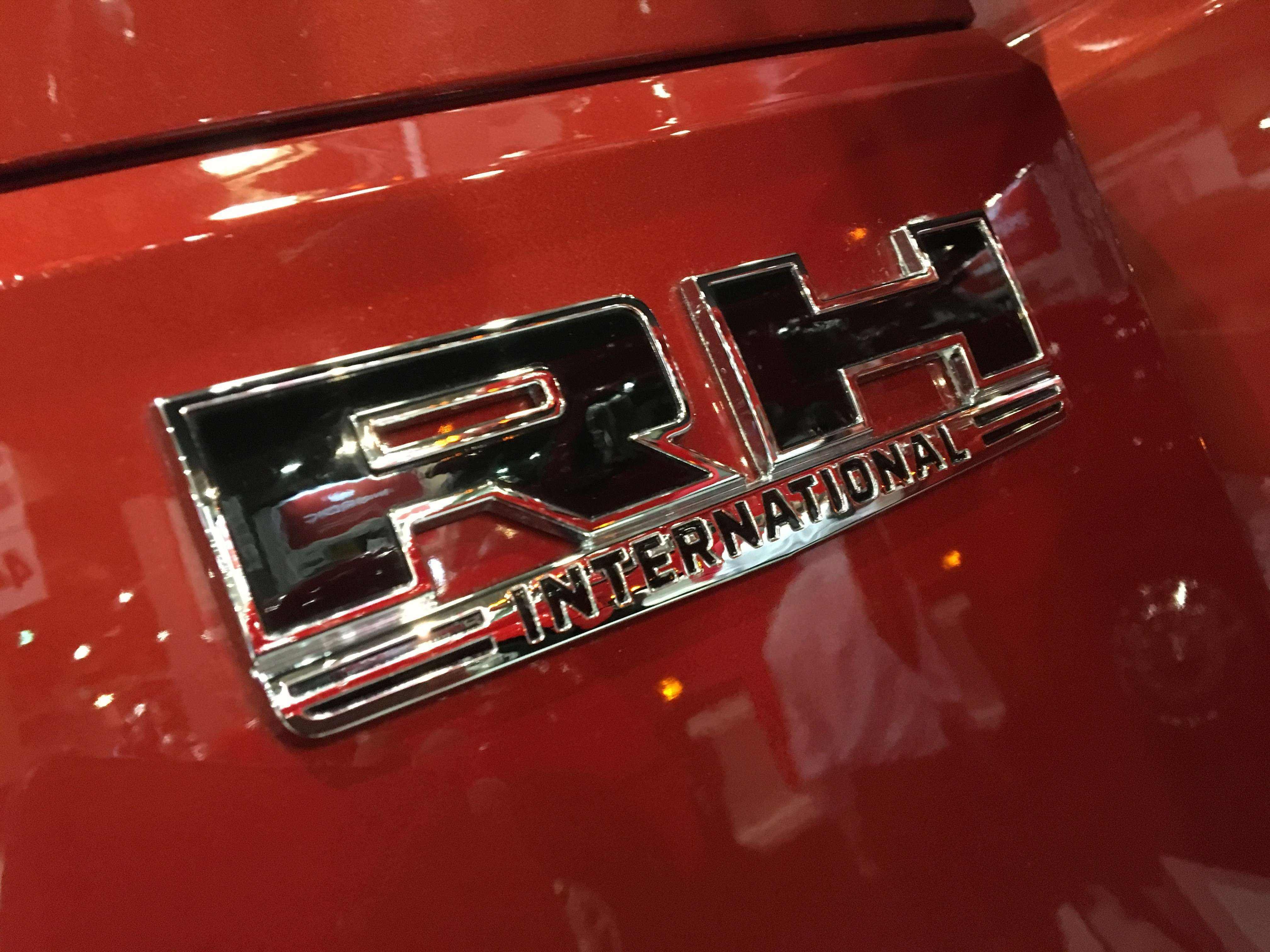 RH International truck emblem