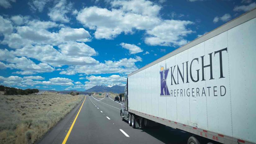 Knight Transportation truck