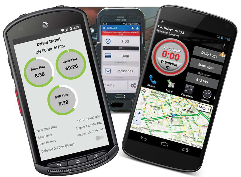 Mobile based ELDs