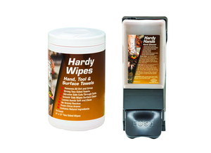 E-Zoil's Hardy Hands hand cleaner