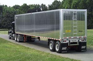 East's lightweight tipper trailer