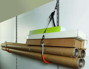 Kinedyne's wall-mounted storage system
