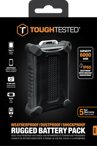 Toughtested rugged battery pack