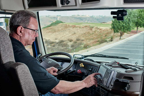 Truck Driver on ELD