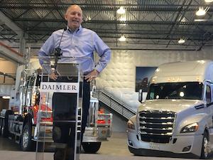Roger Nielsen, Daimler Trucks North America president and CEO