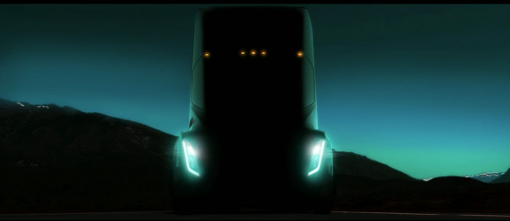 Tesla Class 8 Tractor