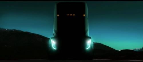 Tesla Electric Semi-Truck