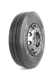 Pirelli's SmartWay-verified Pentathlon D long-haul drive tire