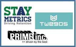 Stay Metrics, Prime Inc, and Twegos logs