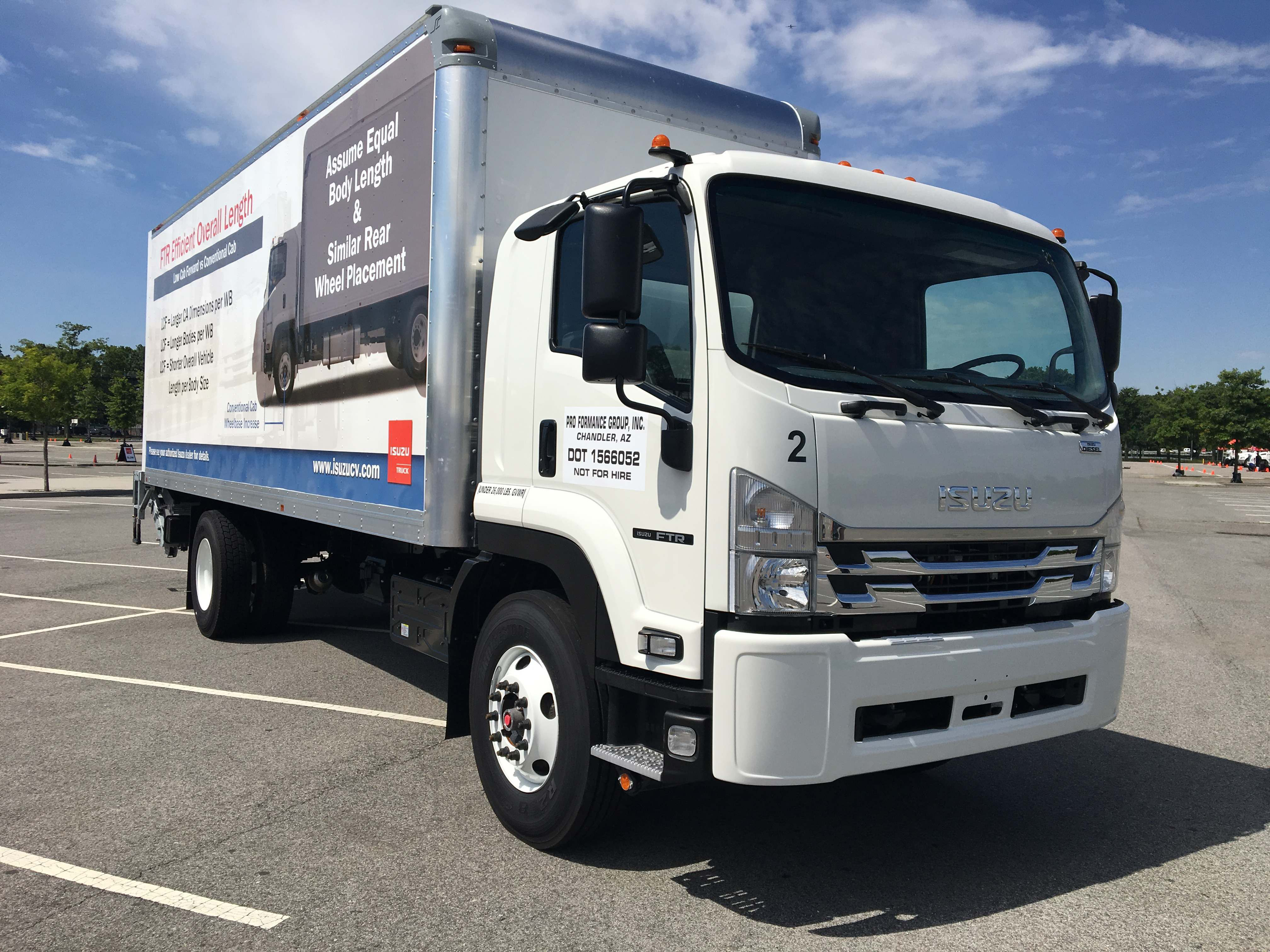 Take A Test Drive With The New 2018 Isuzu Ftr Class 6 Truck