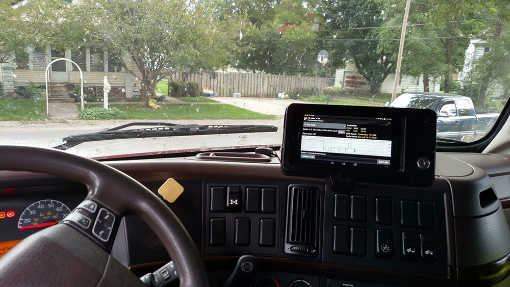 Tracking System on Dashboard