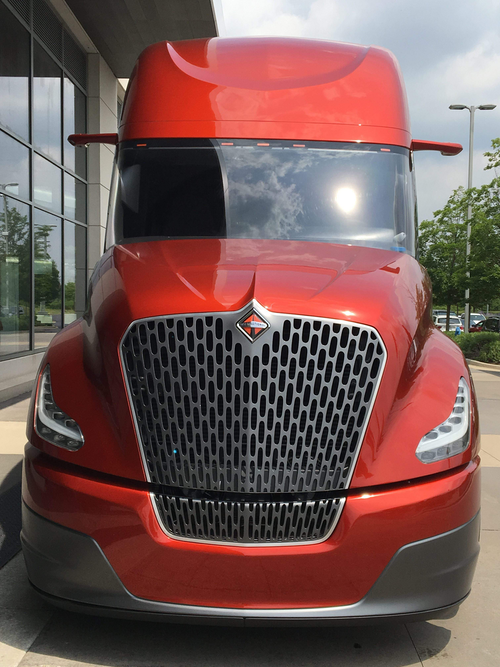Navistar's CatalIST Super Truck