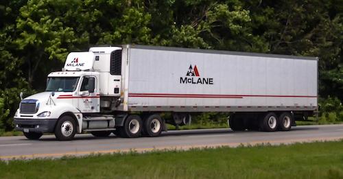 McLane Company Semi-Truck