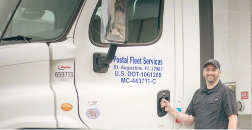 Postal Fleet Services' director of business and safety development